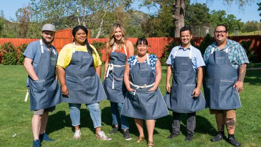 The competitors of Food Network's Ultimate Summer Cook-Off