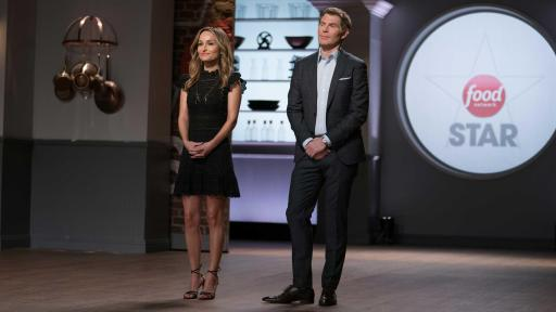 Giada De Laurentiis and Bobby Flay on Food Network Star