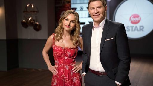 Giada De Laurentiis and Bobby Flay, hosts of Food Network Star