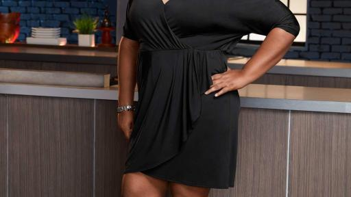 Samone Lett on Food Network Star