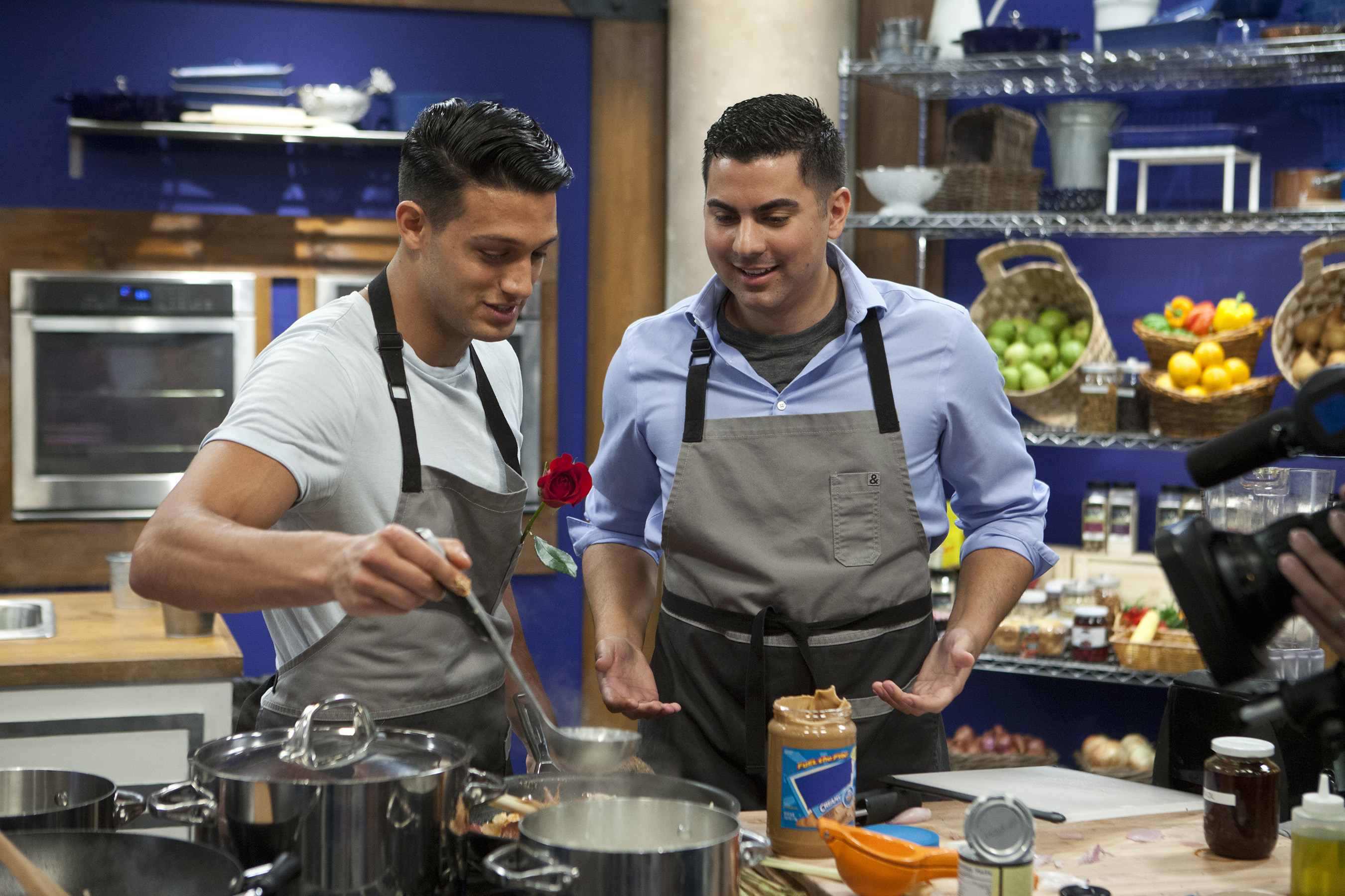 Asaf Goren and Brandon Arroyo on Food Network's Worst Cooks In America