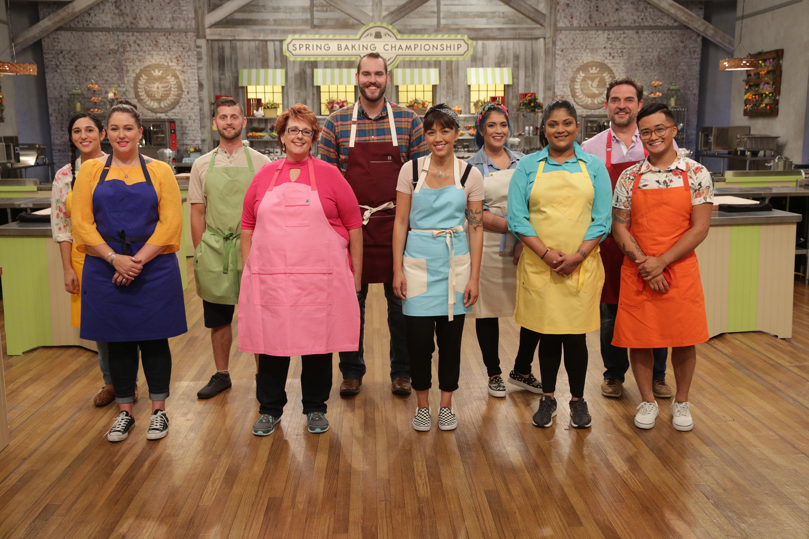 Food Network Bake Championship Judges