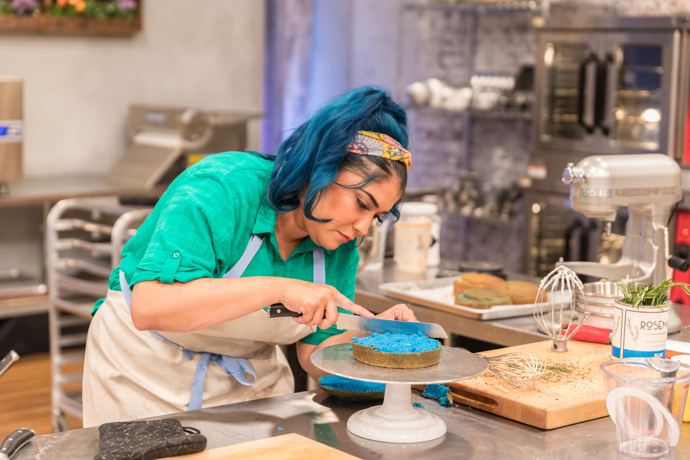 The competition is serious on Food Network's Spring Baking Championship
