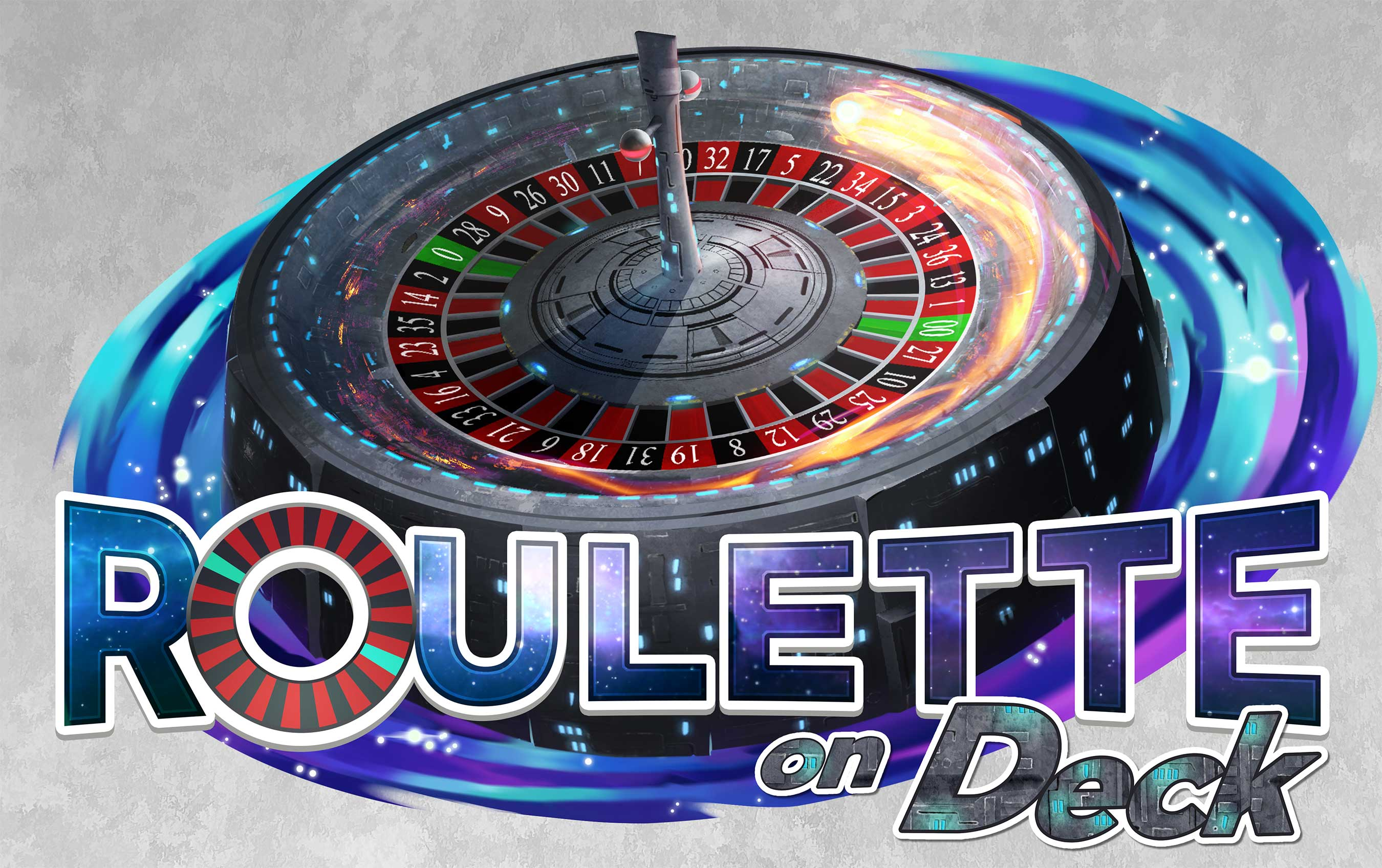 Roulette on Deck Game Logo