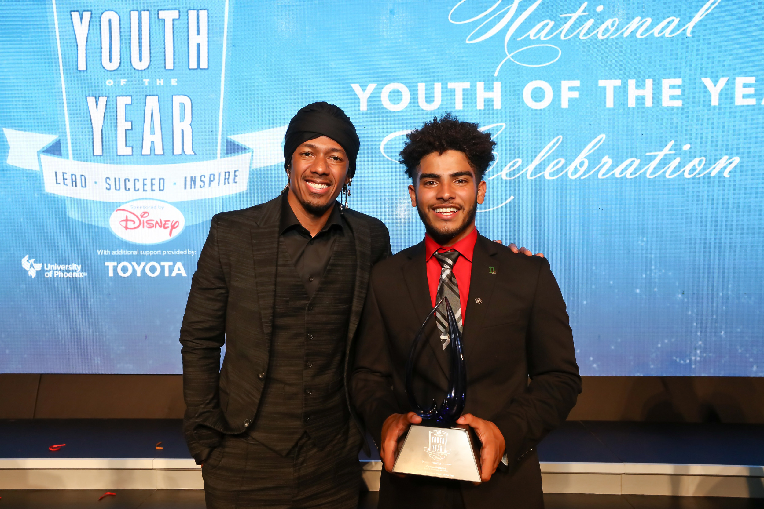 Photo © Tony Powell. 2017 BGCA Youth of the Year. Building Museum. September 26, 2017