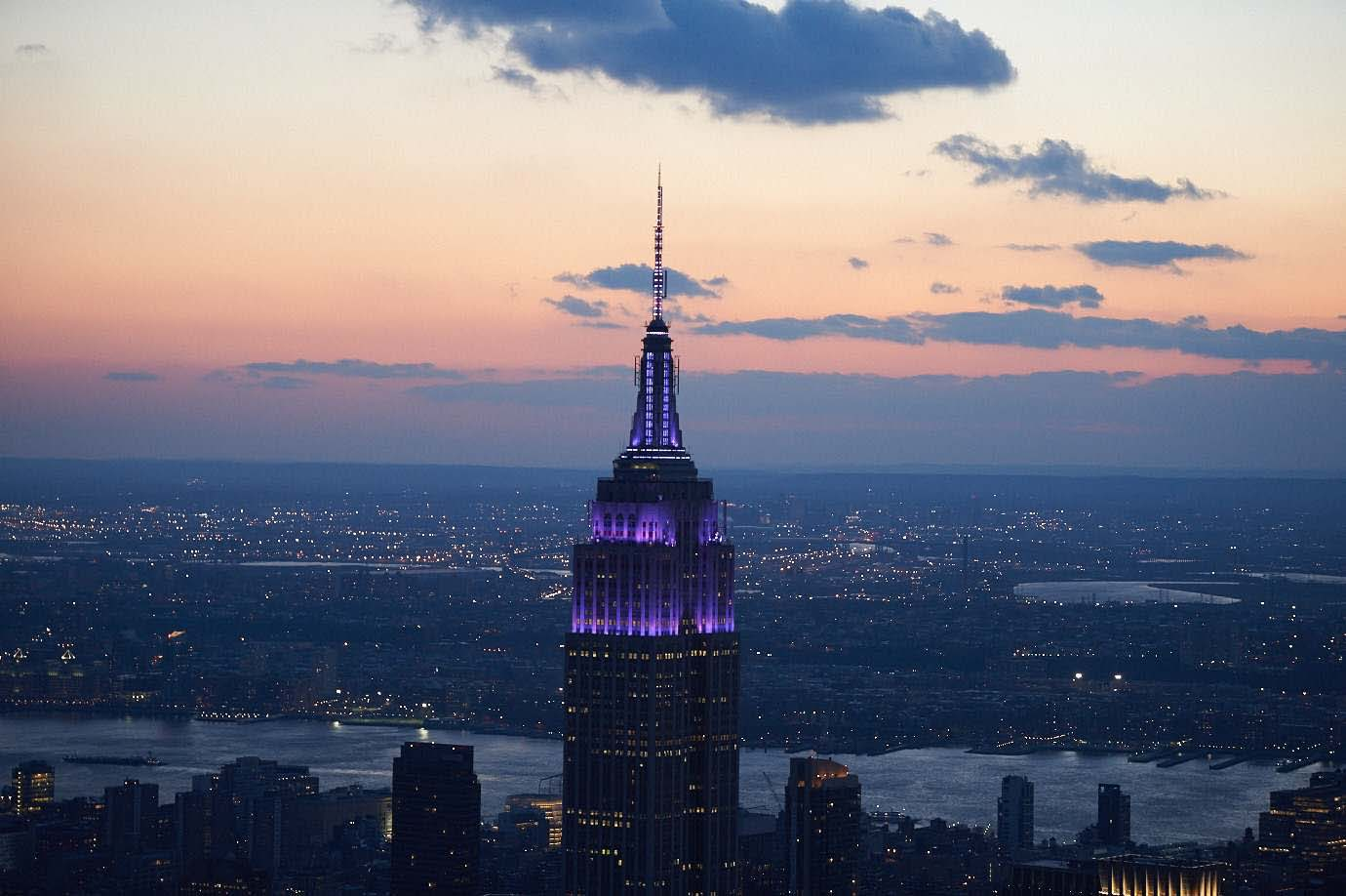 The Empire State Building towers will light purple on November 17, World Prematurity Day. Buildings and landmarks from around the world will light purple that day to raise awareness about the serious problem of premature birth. #WorldPrematurityDay