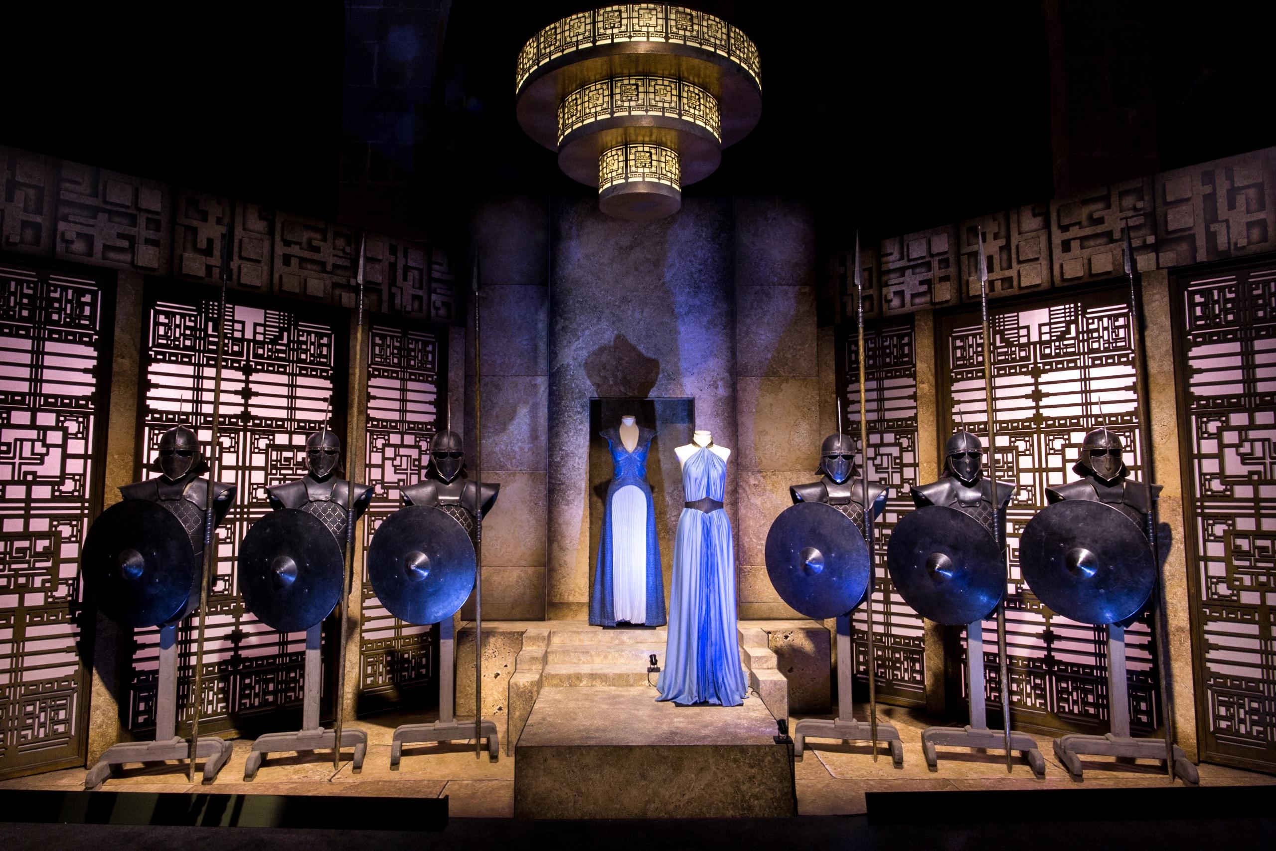TARGARYEN CHAMBER at GAME OF THRONES®: The Touring Exhibition (Photo by Mahala Nuuk)