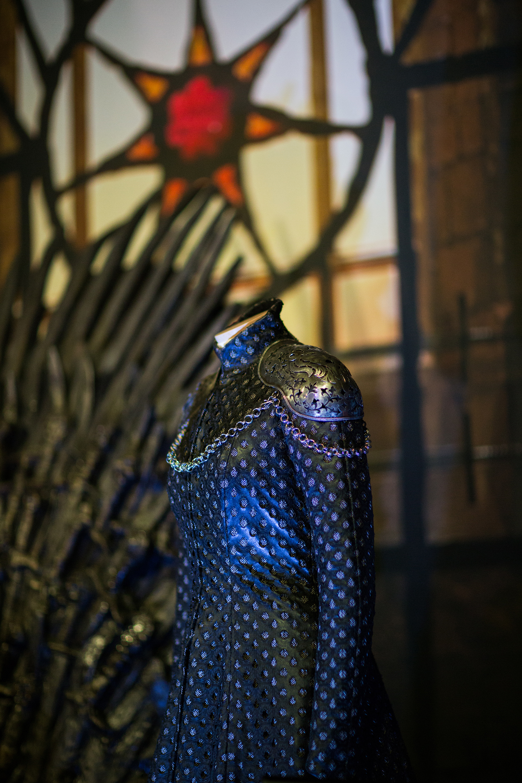 CERSEI COSTUME at GAME OF THRONES®: The Touring Exhibition (Photo by Mahala Nuuk)