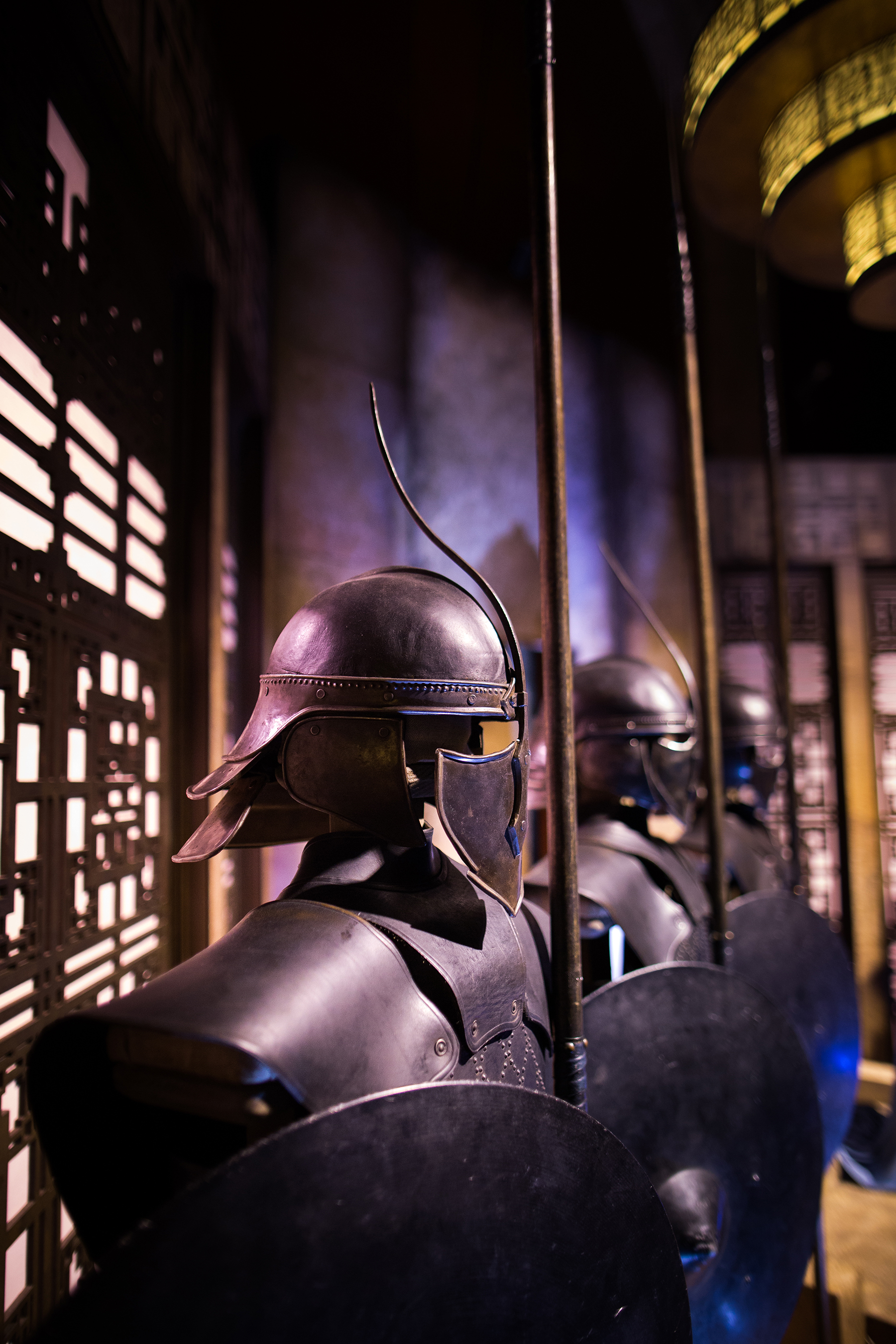 Unsullied Warriors at GAME OF THRONES®: The Touring Exhibition