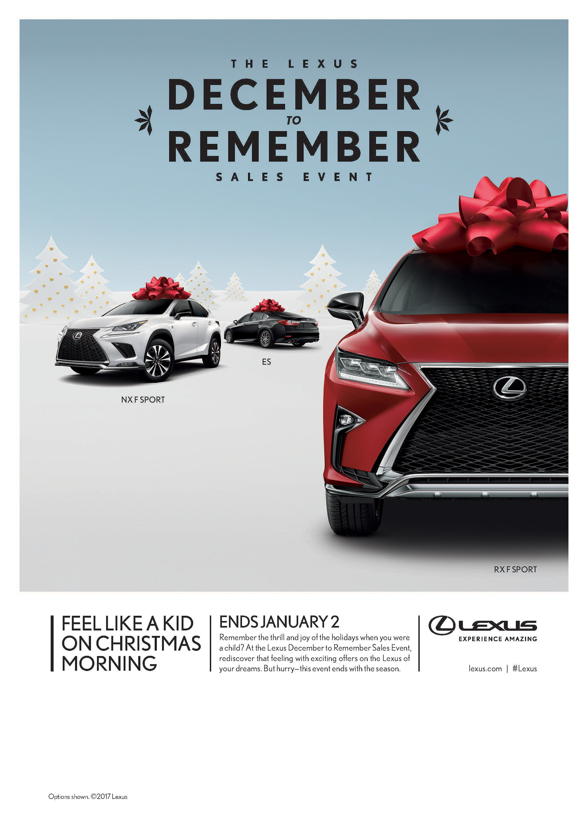 Superb 2017 Lexus December To Remember Sales Event Digital Ad