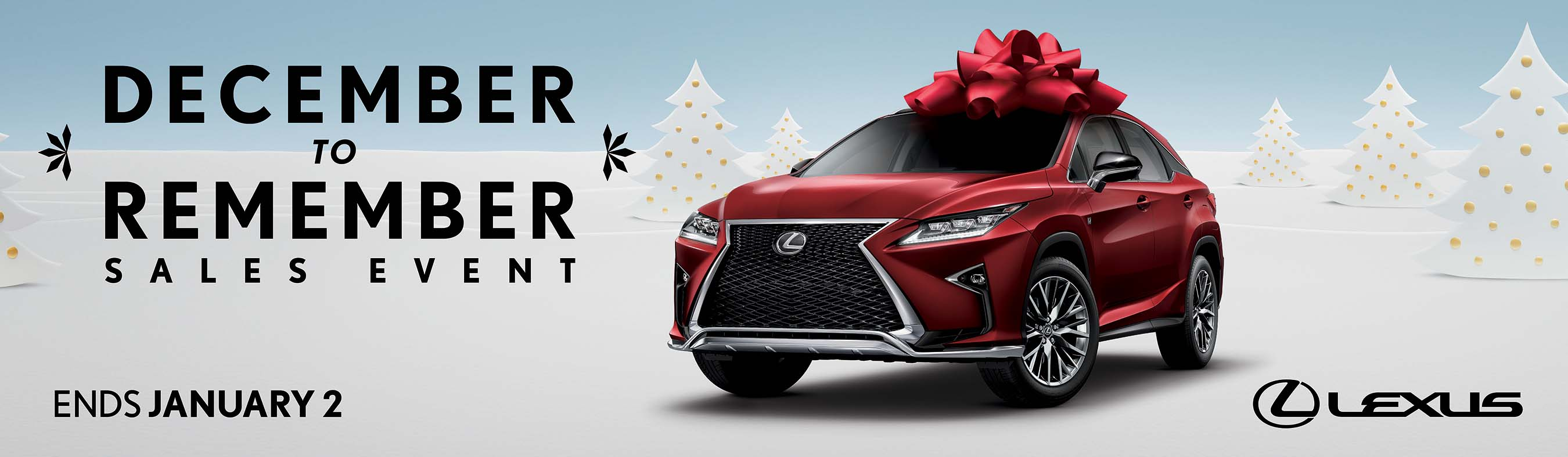 2017 Lexus December To Remember S Event Digital Ad