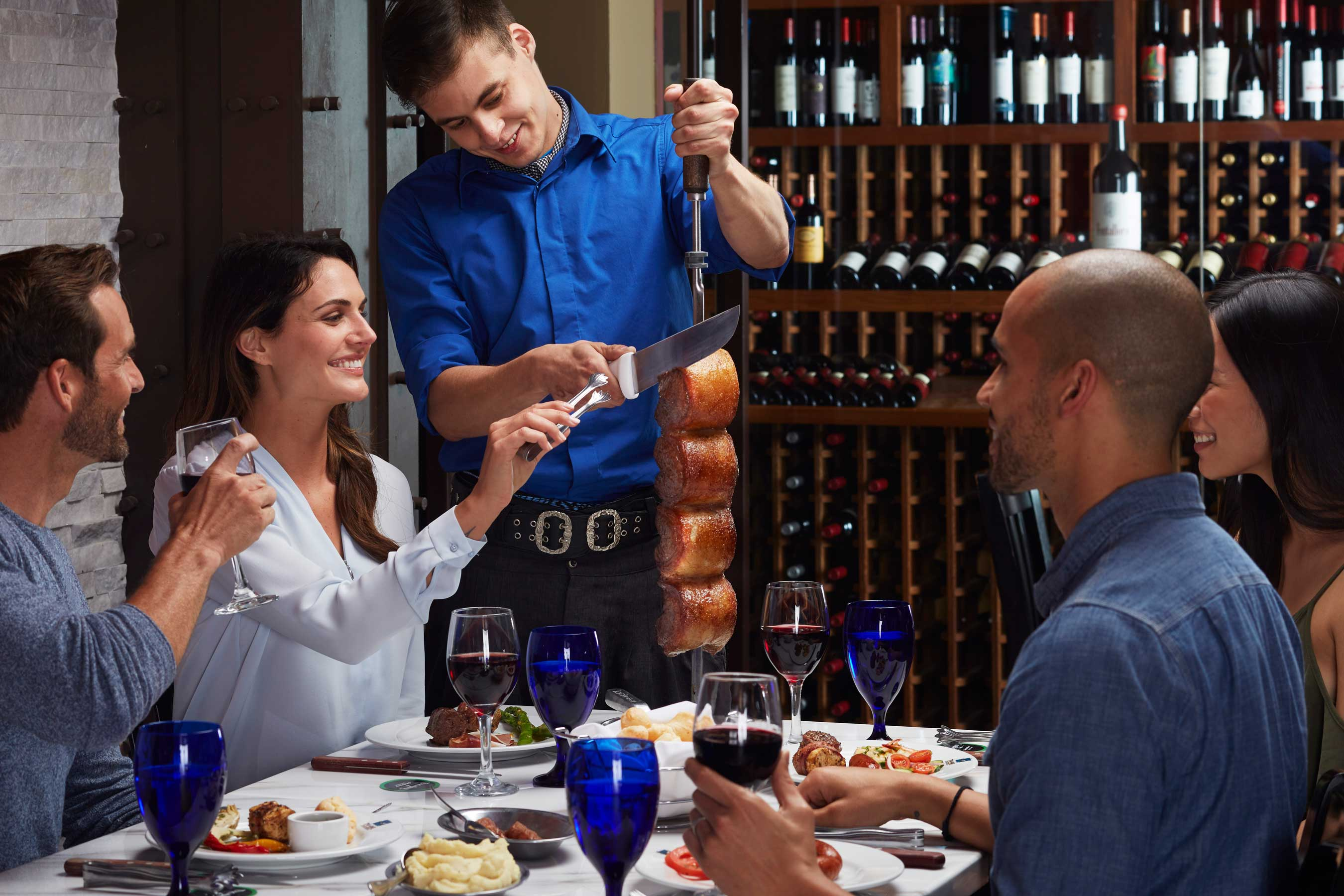 Texas de Brazil's lively ambiance and mouthwatering rodizio-style dining experience sets the scene for friends, family and business associates. Anniversary pricing from 1998 is offered only on October 8th and 9th.