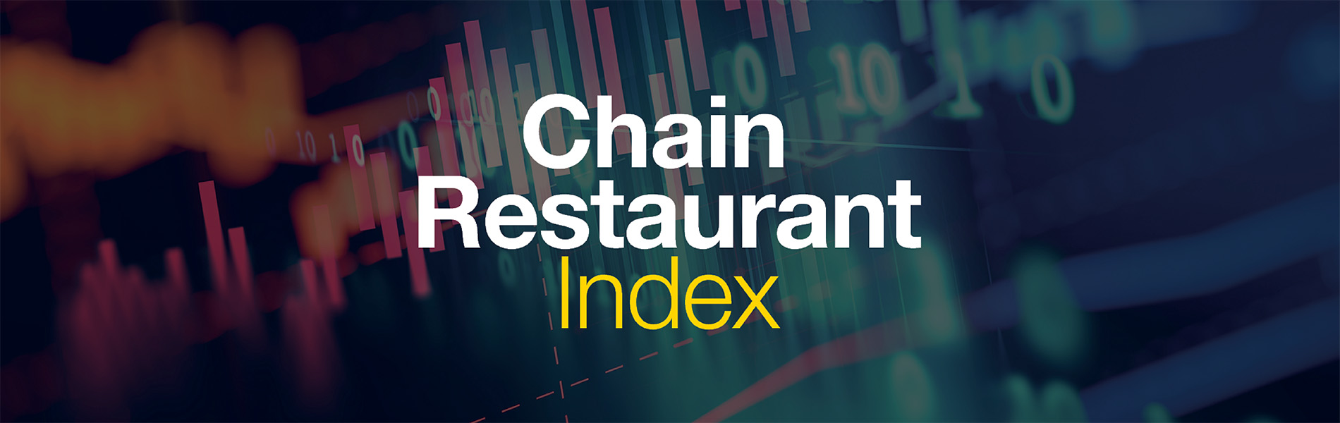 A cark graphic that says Chain Restaurant Index.
