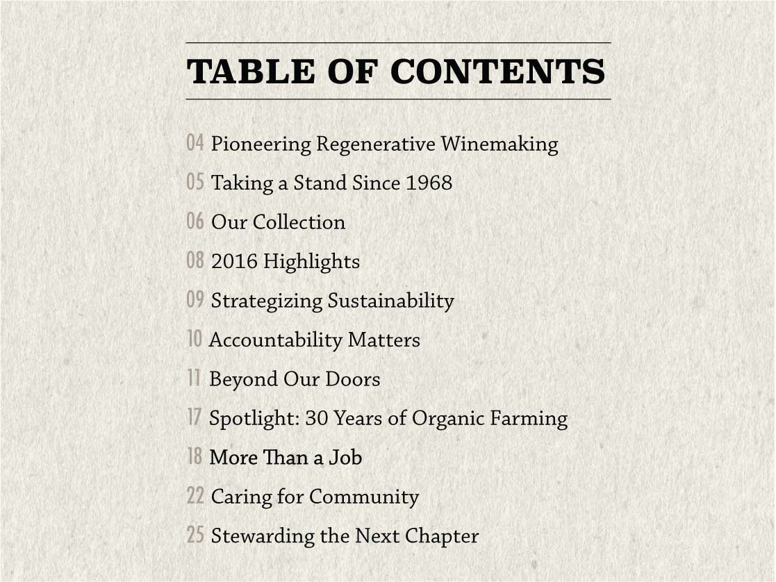 Road to Regeneration details the winery's regenerative practices, 2020 Sustainability Goals and plans for a Net Positive future