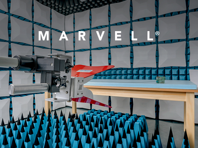 Marvell's state-of-the-art automotive EMC lab