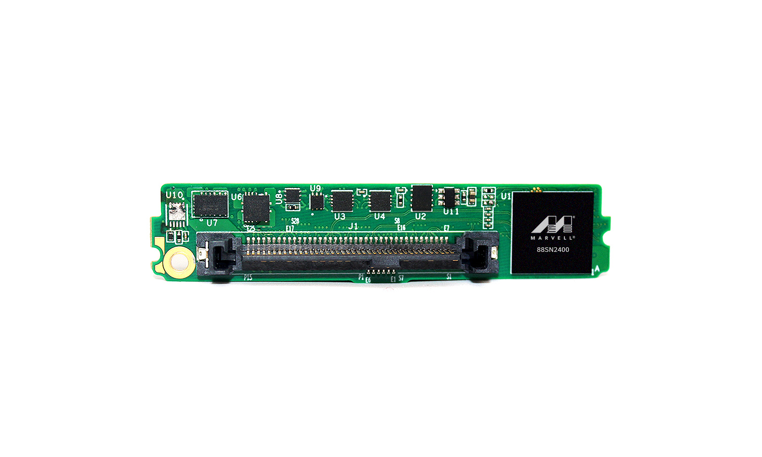 Marvell NVMe-oF SSD Converter Controller in interposer application