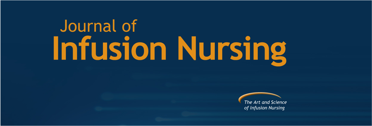 Journal of Infusion Nursing banner image