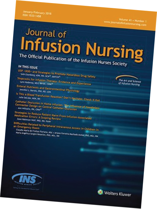 Infusion Scholarly Publication