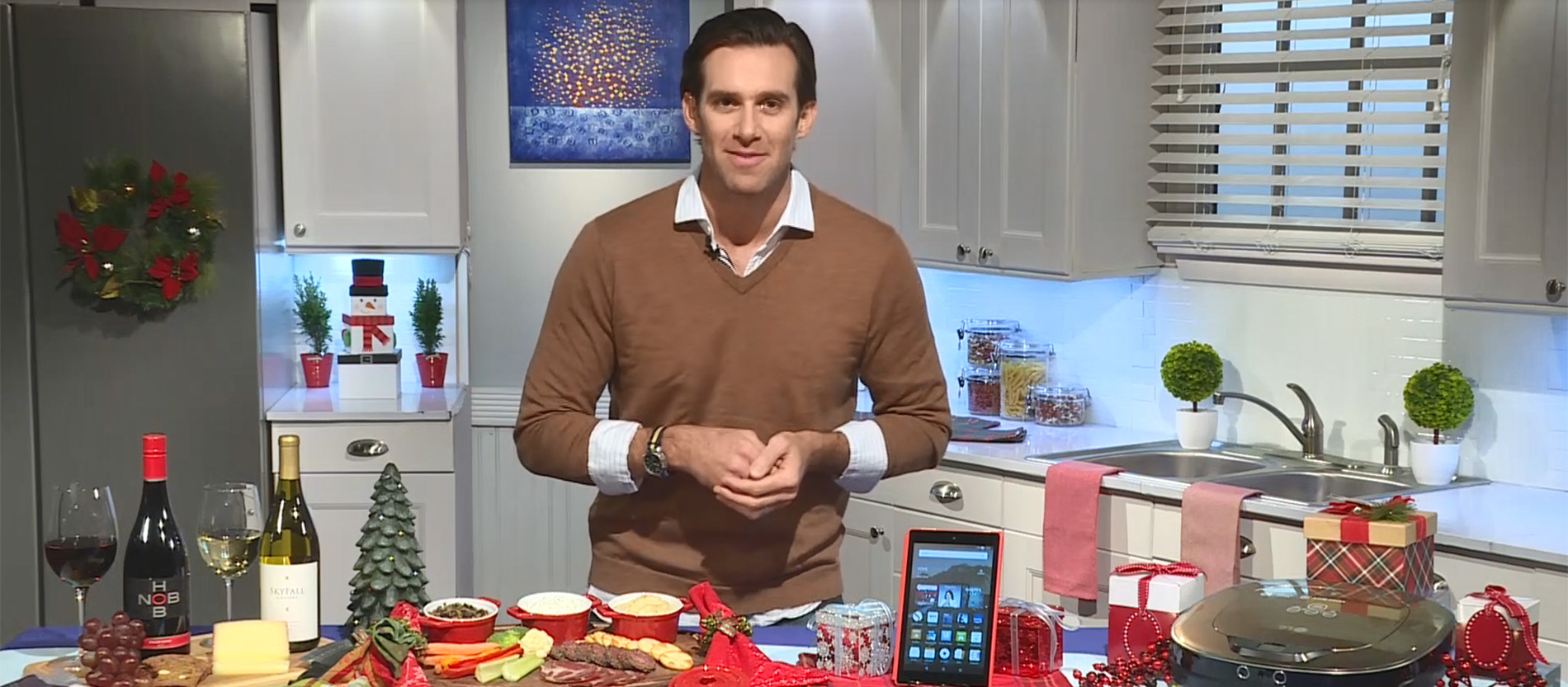 Chef James Briscione shares his expert advice on how to plan and host your holiday party and get through your gift list with time to spare