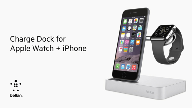 BOOSTUP Charge Dock for Apple Watch and iPhone