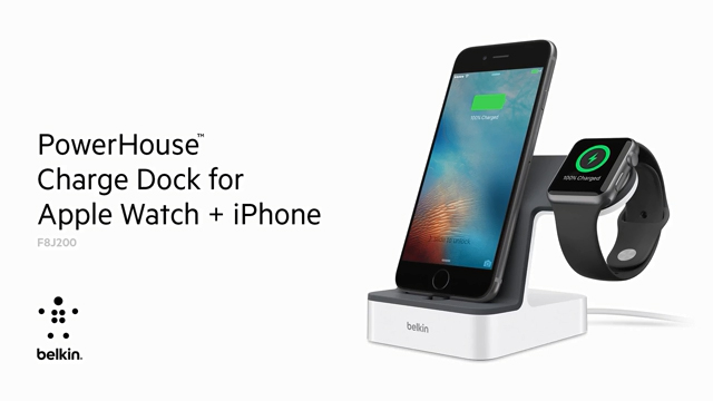 PowerHouse™ Charge Dock for Apple Watch and iPhone
