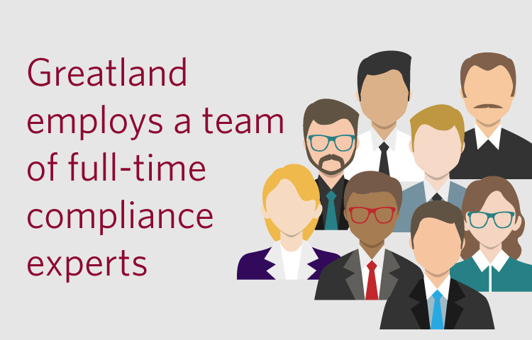 Greatland Corporation's full-time compliance experts are dedicated towards IRS, SSA and state agency W-2, 1099 & 1095 regulations.