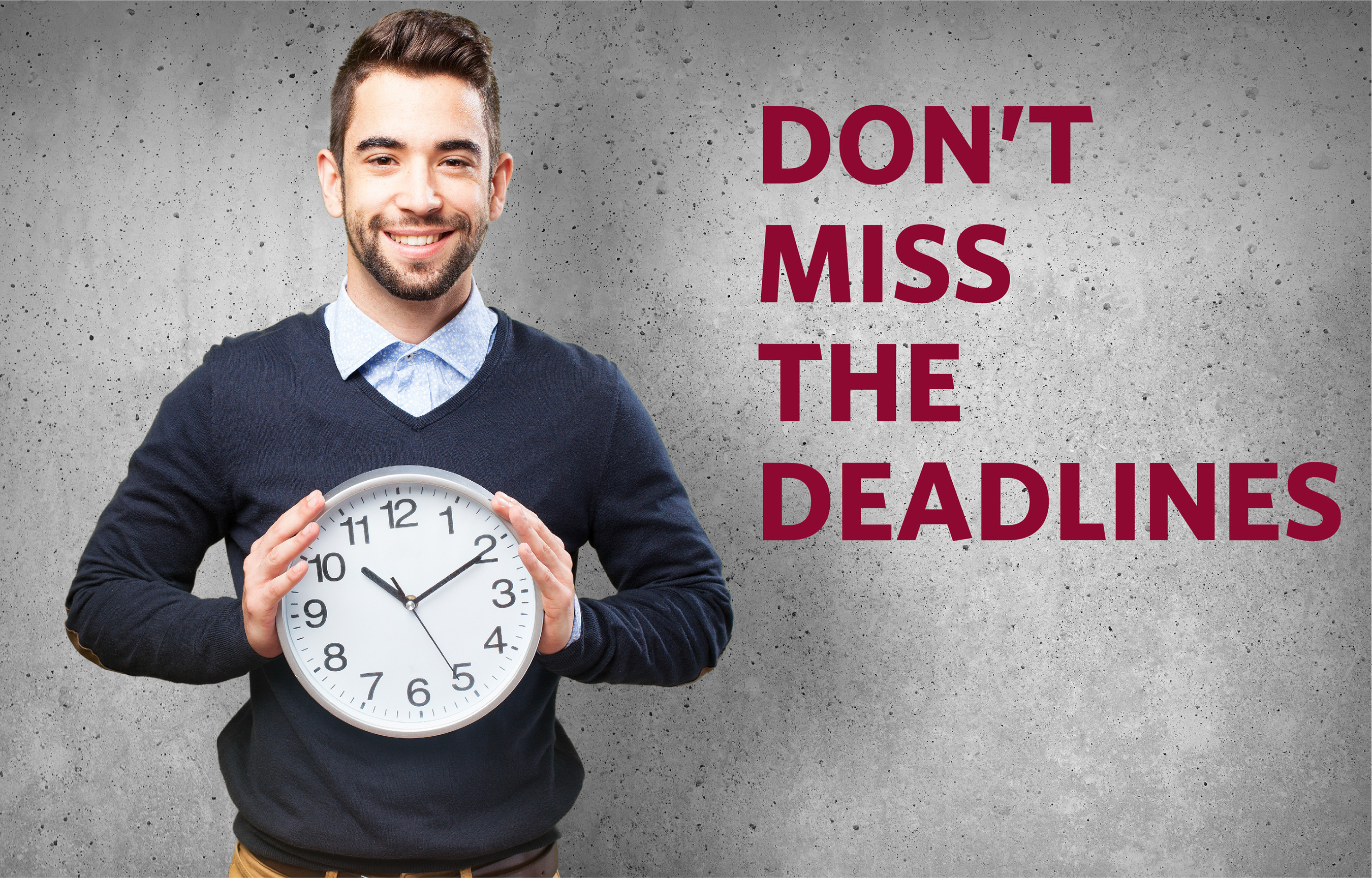 Businesses have a lot of deadlines to keep track of each year, Greatland Corporation has tools available 24/7 to help filers avoid mistakes like missing a deadline.