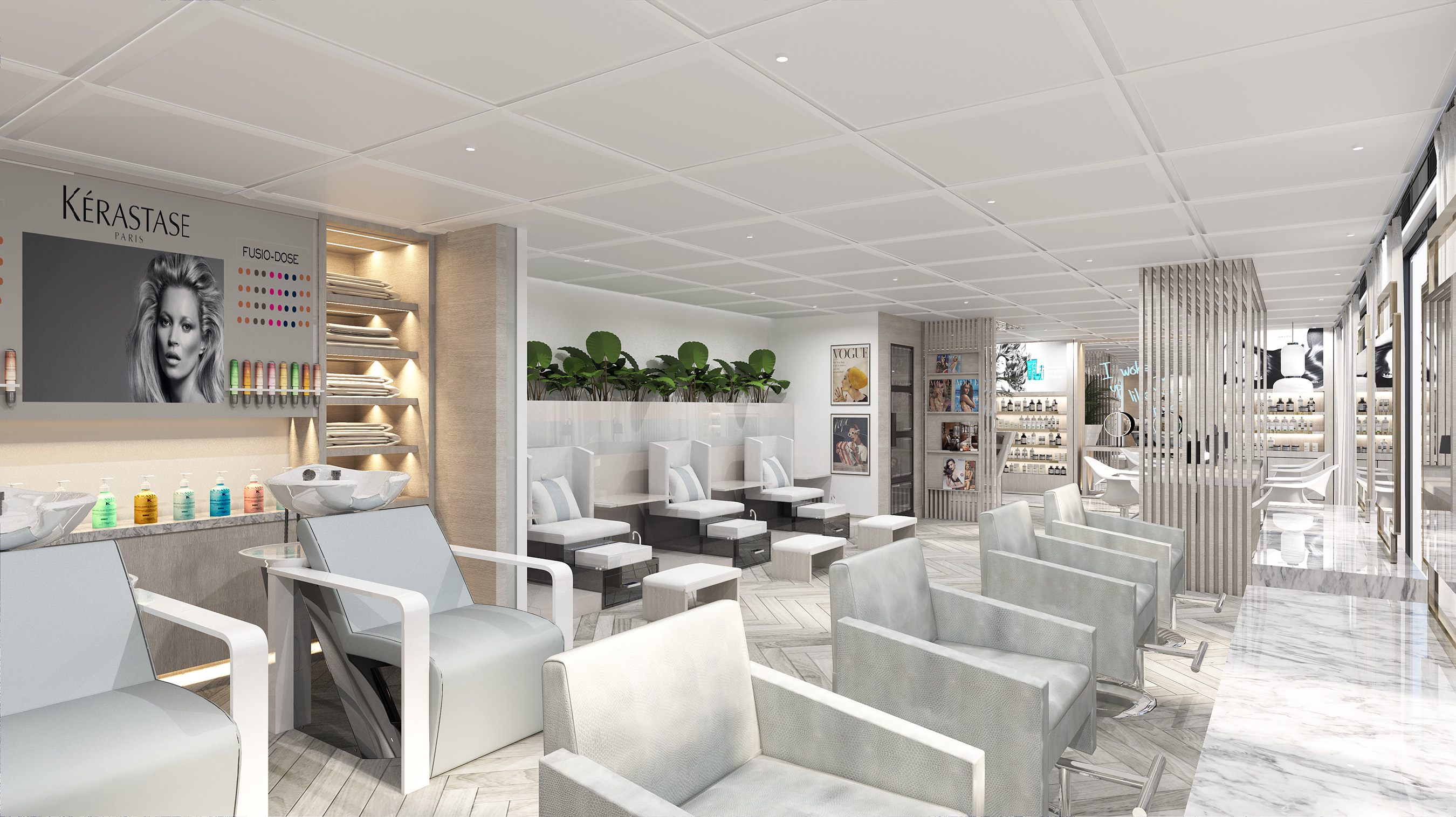 Celebrity Cruises will be partnering with Kérastase®, one of the world's most advanced luxury haircare brands, to create the ultimate salon experience at The Spa.
