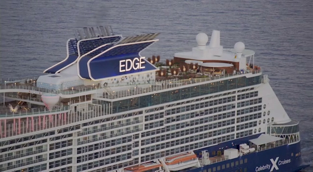 Celebrity Cruises' highly anticipated ship, Celebrity Edge, gets an electrifying welcome to her new South Florida home at Port Everglades' Terminal 25