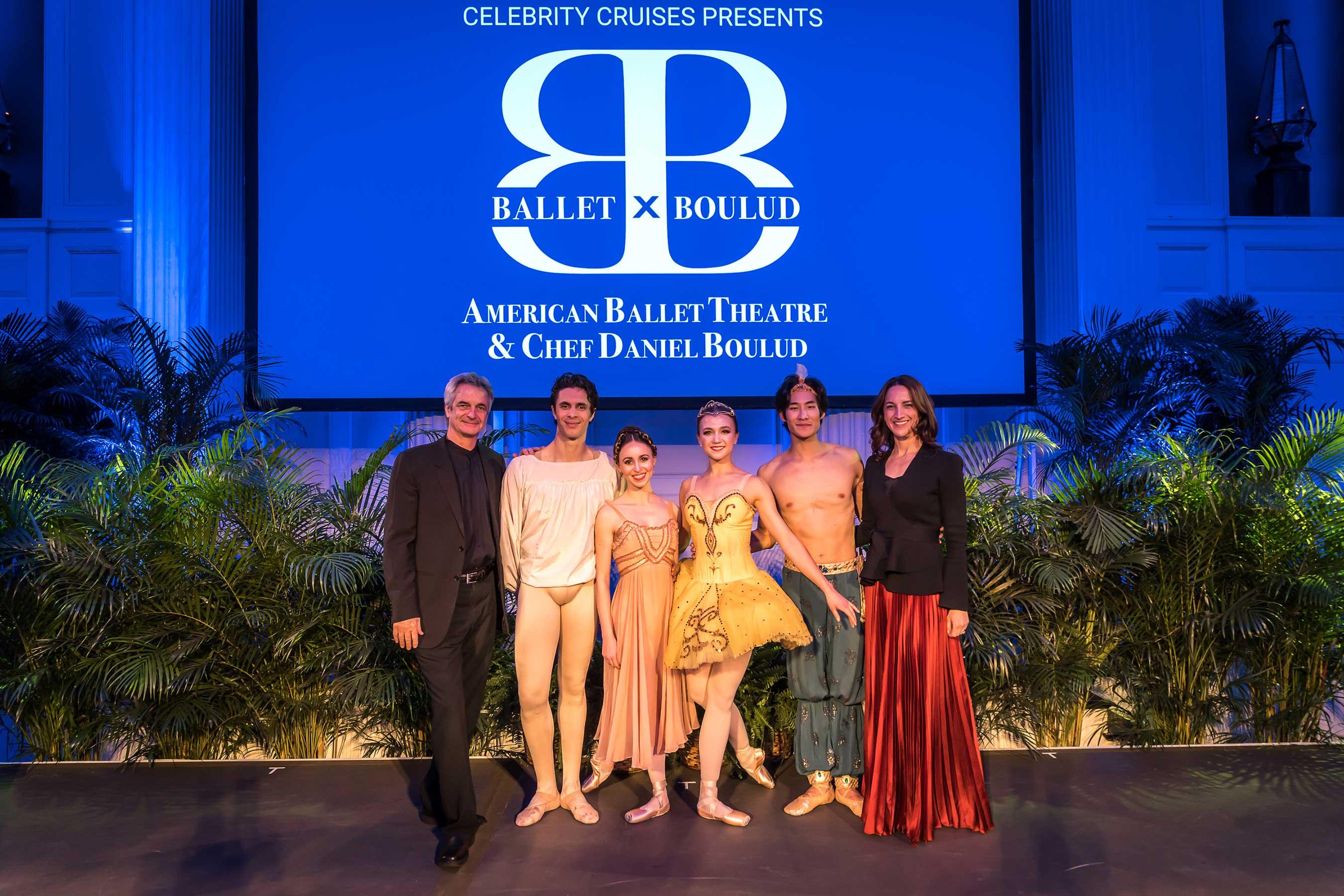Left to Right: American Ballet Theatres Artistic Director, Kevin McKenzie, Soloists Skylar Brandt, Alexandre Hammoudi, Katherine Williams, Joo Won Ahn and Executive Director Kara Barnett