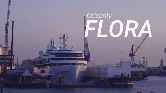 Celebrity Flora nears completion at Shipyard De Hoop in Rotterdam, Netherlands, showcasing Celebrity's transformational new ship. Get a first look at Celebrity Flora on this quick tour before her official debut.