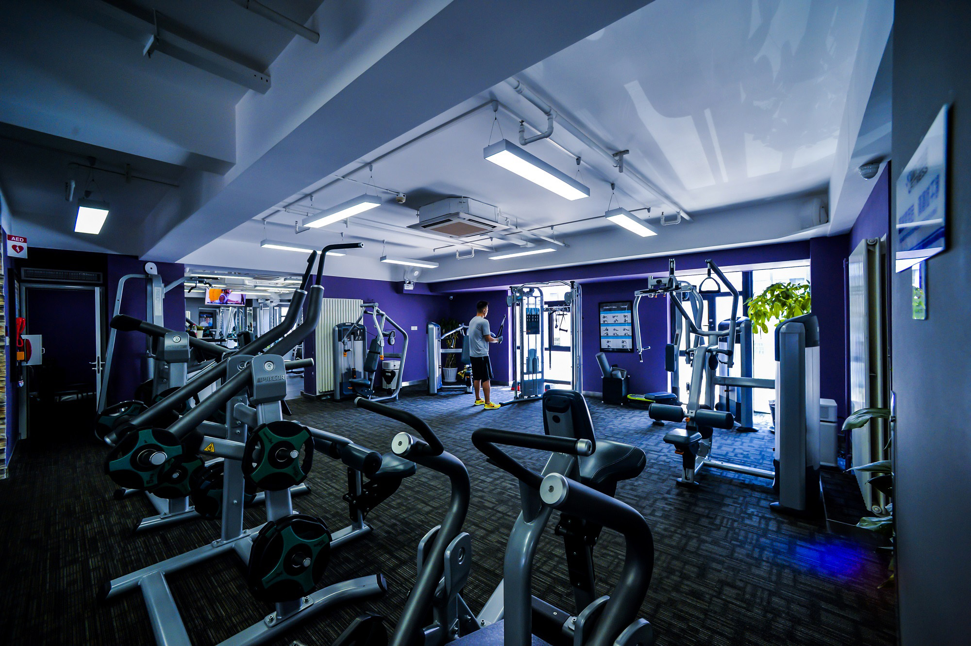 Anytime Fitness is the first and only fitness club chain to be granted a franchising license in China.