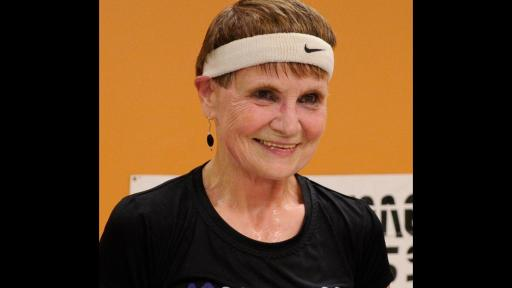 Betty Lou Sweeney, a 71-year-old Anytime Fitness member, set the world record for planking:  36 minutes and 58 seconds.