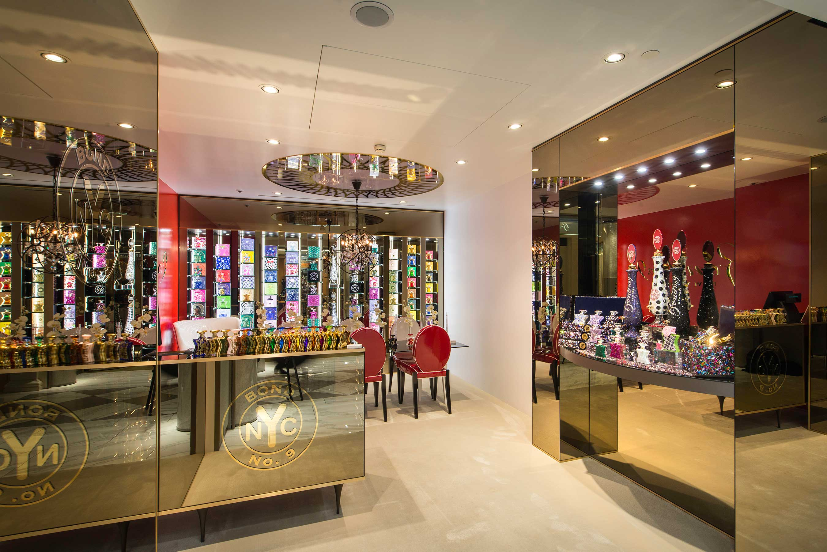 Bond No. 9 is on the rise at Harrods, heading up to the 6th floor Salon de Parfums