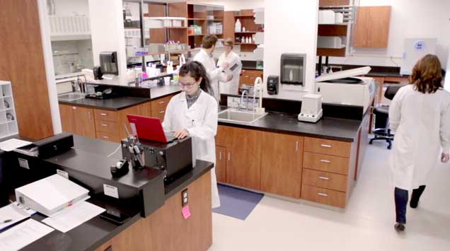 Inside the Evolve BioSystems Lab