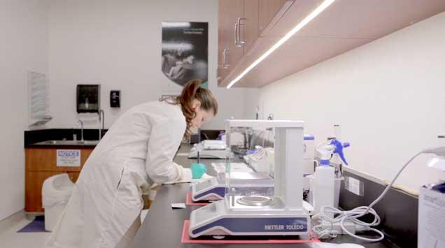 Evolve BioSystems Scientist At Work