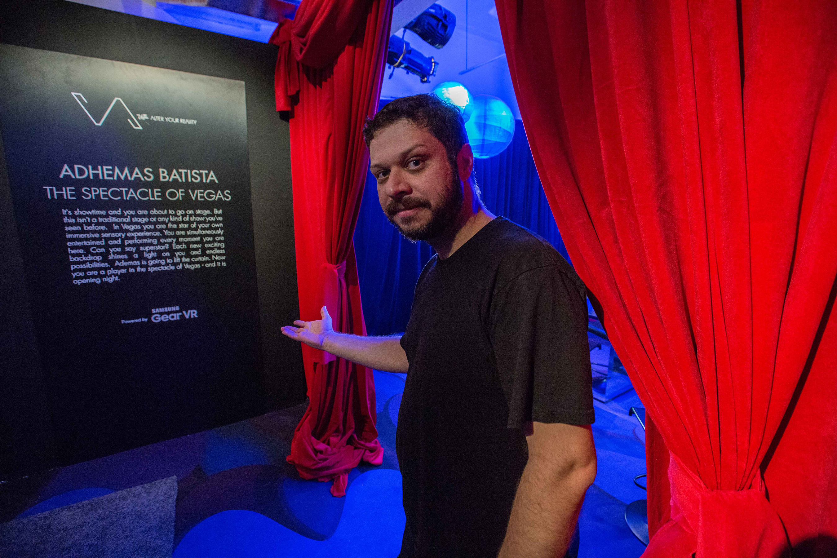 Adhemas Batista Unveils Work during Vegas Alter Your Reality Event