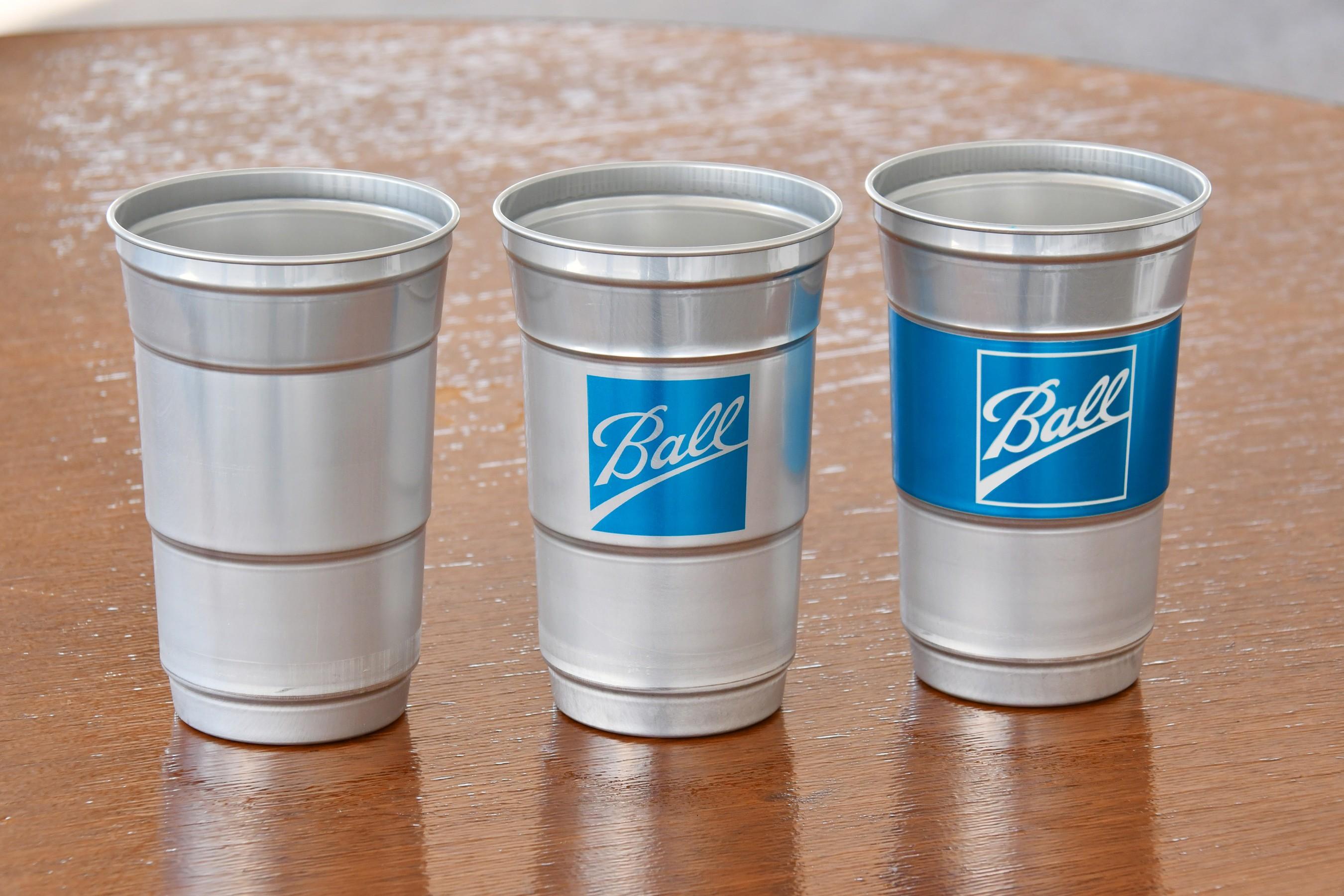 Ball Aluminum Cup