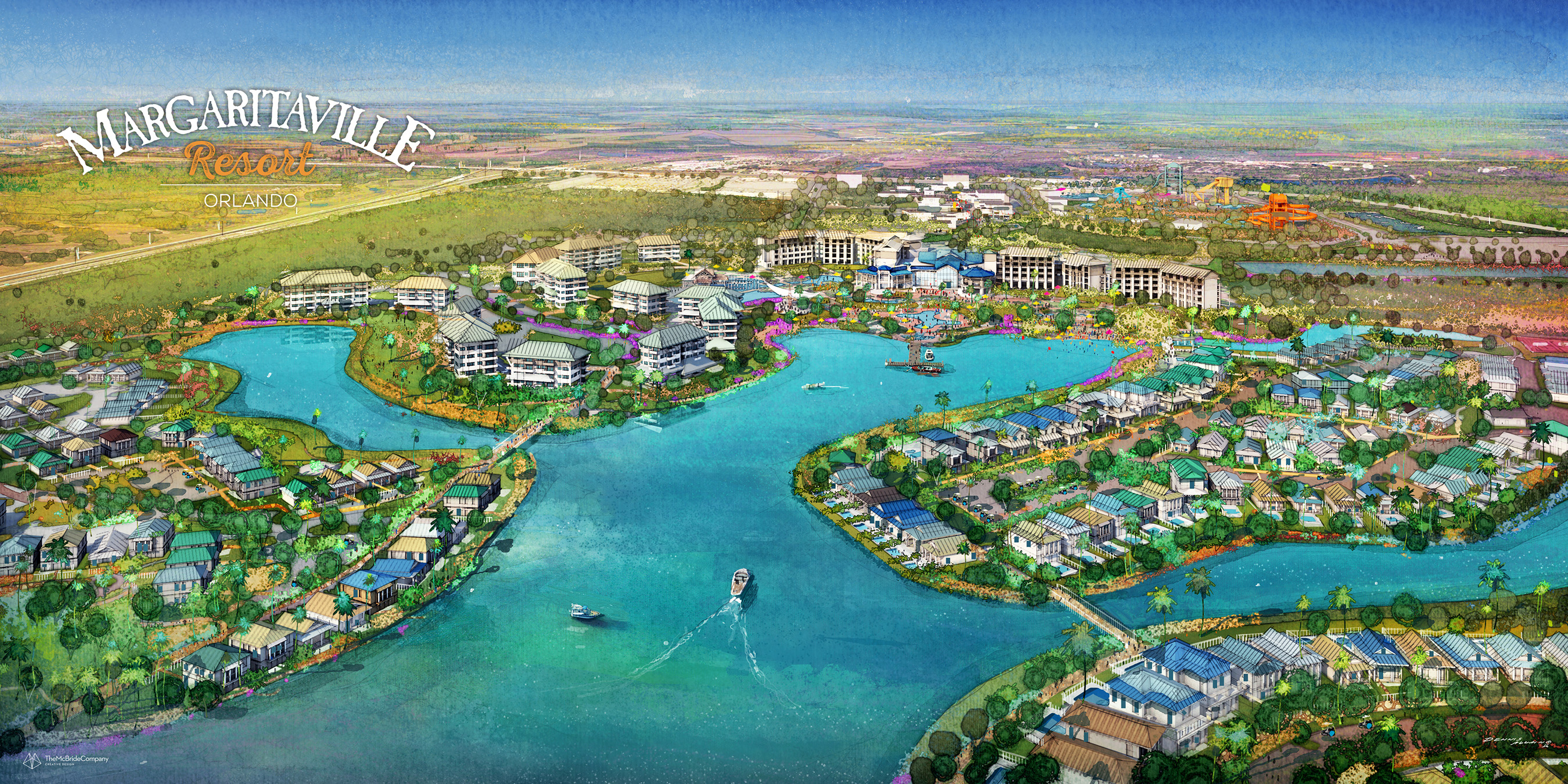 Margaritaville Resort Orlando will open with 175 rooms, 1,000 vacation homes, dining, entertainment and more.