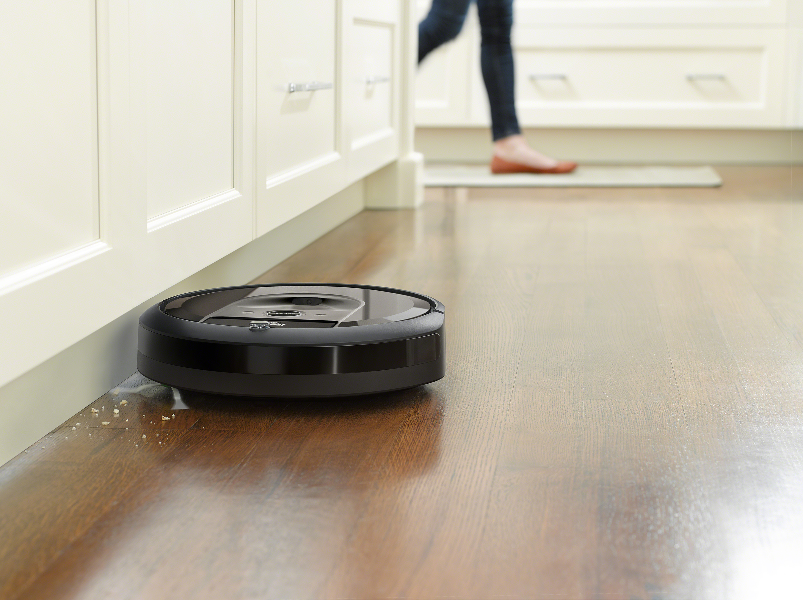 The Roomba i7+ brings a new level of intelligence and automation to robotic vacuum cleaners with the ability to learn, map and adapt to a home's floor plan.