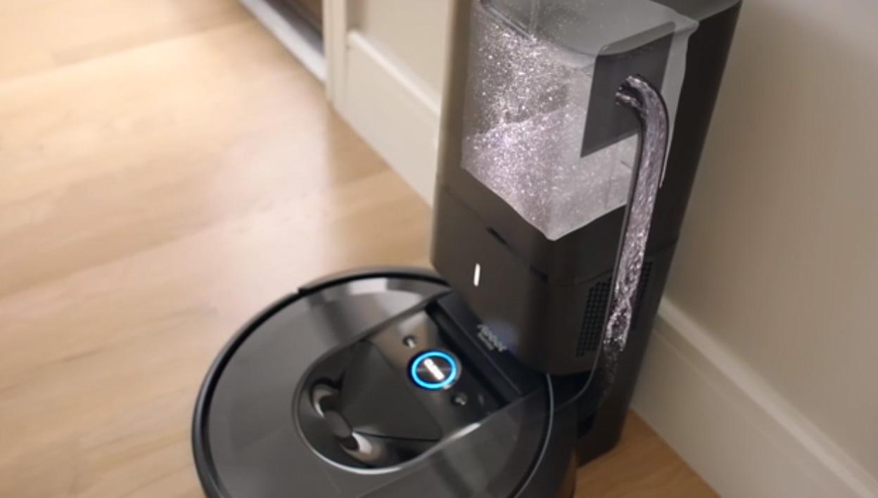New iRobot® Roomba® i7+ Robot Vacuum Learns a Home's Floor Plan