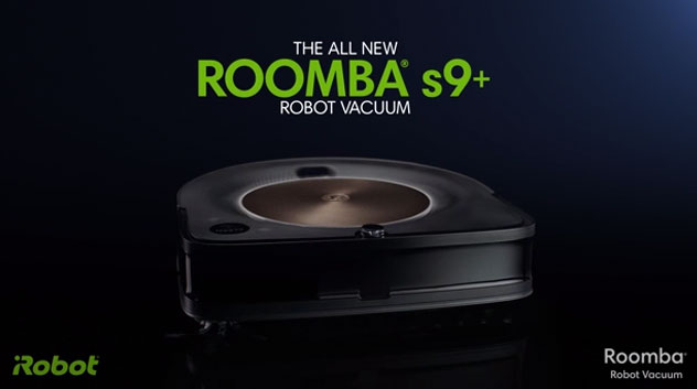 The iRobot® Roomba® s9+ robot vacuum with Clean Base™ Automatic Dirt Disposal offers customers the deepest clean yet with an advanced 3D sensor, a powerful new cleaning system and PerfectEdge® Technology, which encompasses 30 percent wider Dual Rubber Brushes and a specially designed Corner Brush.