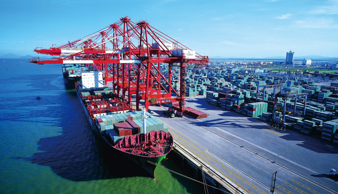 Modernized and standardized port management promises time and labor efficiency.