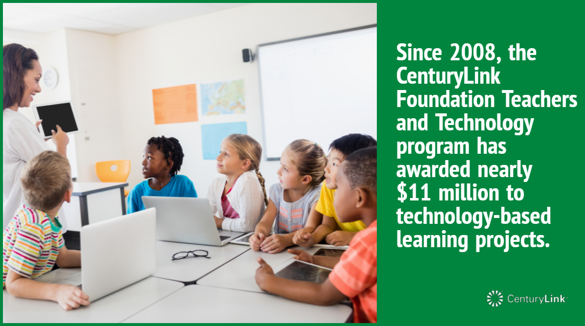 CenturyLink promotes learning