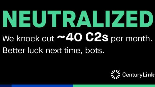 "Graphic card reading: ""NEUTRALIZED. We knock out ~40 C2s per month. Better luck next time, bots."""