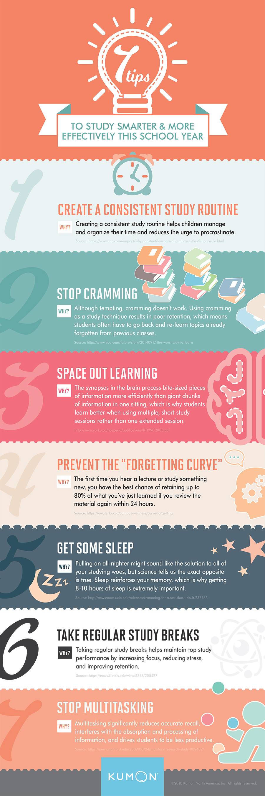 7 Tips to Study Smarter this School Year