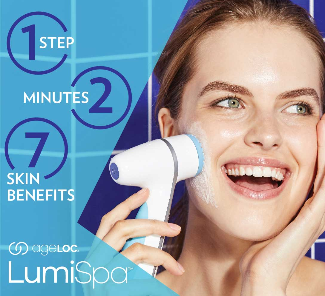 Softer, smoother, brighter skin and more with ageLOC LumiSpa from Nu Skin