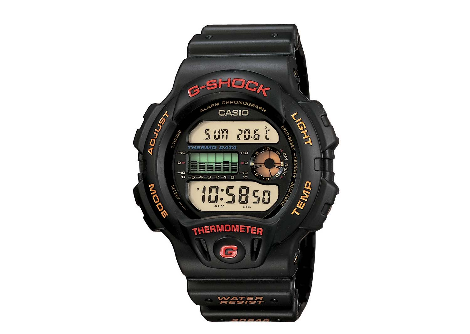 First G-SHOCK With Sensor Technology