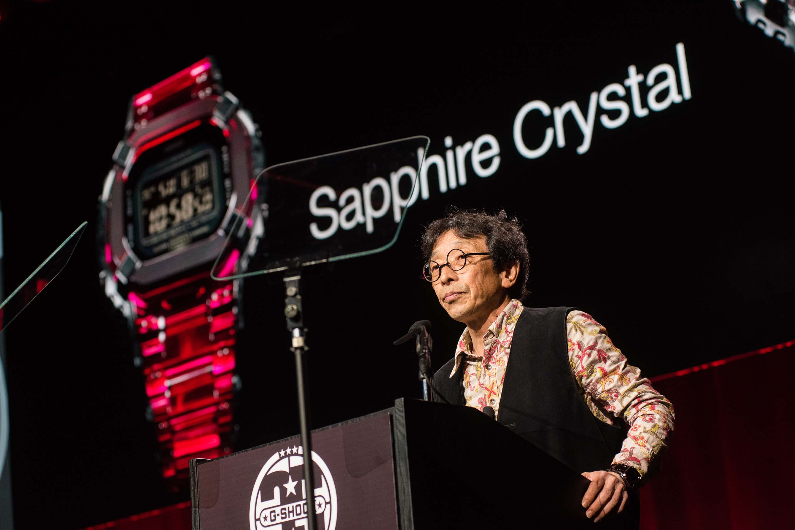 Mr. Ibe with Crystal G-SHOCK (Photo Credit: Ryan Muir)