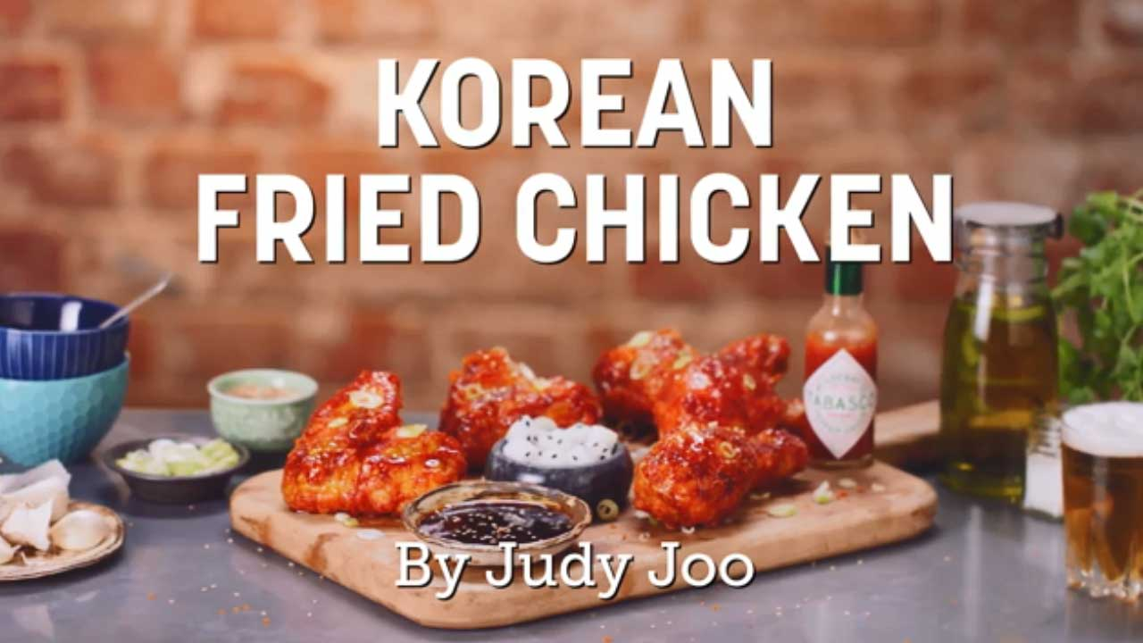 Korean Fried Chicken by Chef Judy Joo
